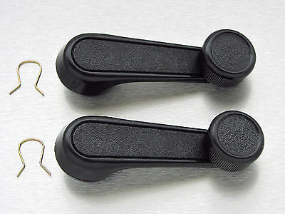 Suzuki Jimny SJ413 SJ410 Samurai Sierra JA51 1300 window crank handle black pair