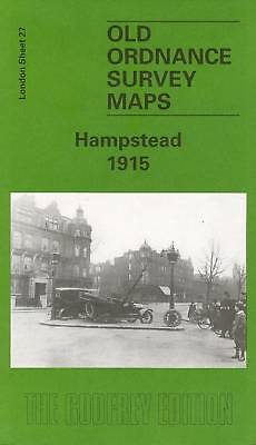 Old Ordnance Survey Map Hampstead 1915