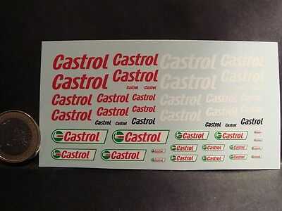 Decals 1/43 - New Pétrolier Castrol - T281