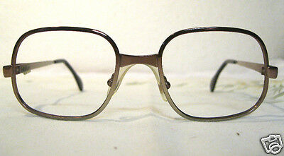 VINTAGE Brille Metall Brillenfassung Holland Optiker ladenneu Mauve 30M