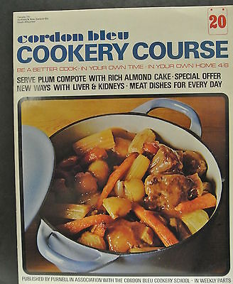 Cordon Bleu Cookery Course. Be A Better Cook-In Your Own Time Own Home Issue 20.