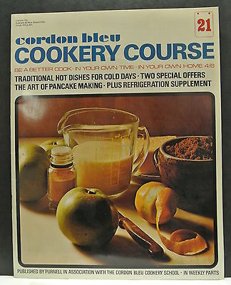 Cordon Bleu Cookery Course. Be A Better Cook-In Your Own Time Own Home Issue 21.