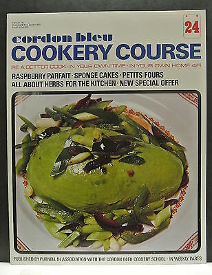 Cordon Bleu Cookery Course. Be A Better Cook-In Your Own Time Own Home Issue 24.