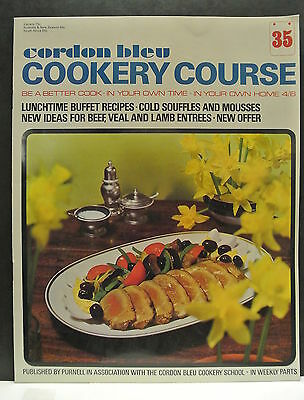 Cordon Bleu Cookery Course. Be A Better Cook-In Your Own Time Own Home Issue 35.