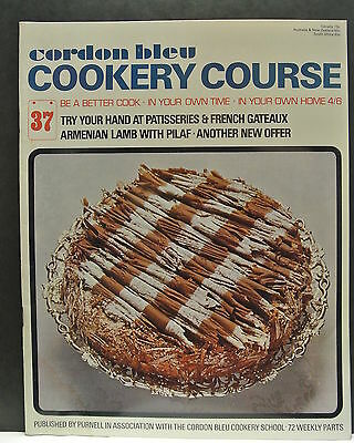 Cordon Bleu Cookery Course. Be A Better Cook-In Your Own Time Own Home Issue 37.