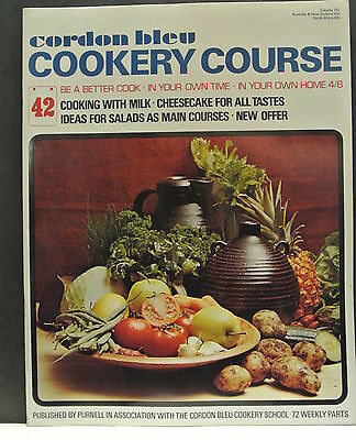 Cordon Bleu Cookery Course. Be A Better Cook-In Your Own Time Own Home Issue 42.