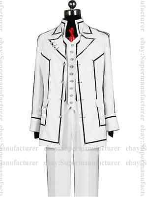 HOT SALE VAMPIRE KNIGHT Kuran Kaname Night Class Uniform Cosplay Costume #07