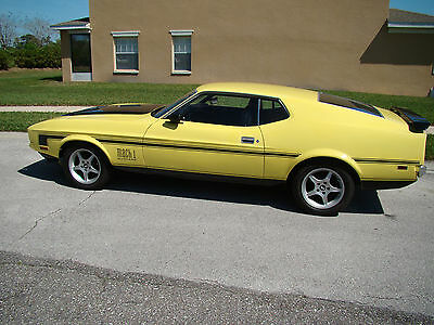 Ford : Mustang MACH 1 MUSTANG MACH 1 1971