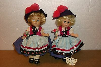 TWO VINTAGE VOGUE GINNY DOLLS--1960'S--GERMANY