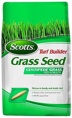 Scotts Turf Builder Grass Seed - Centipede Grass Seed and Mulch, 5-Pound