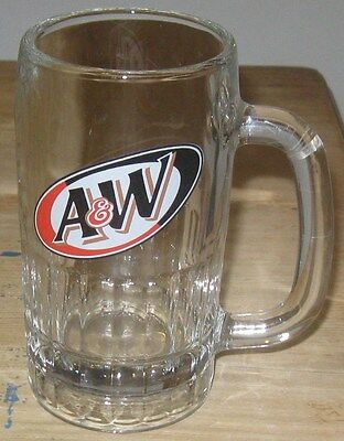 "A&W Rootbeer Glass Mug - 5 5/8"" Tall"