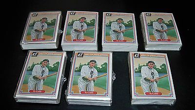 7 COMPLETE SETS OF 1983 DONRUSS HALL OF FAMERS STAN MUSUAL MICKEY MANTLE TY COBB