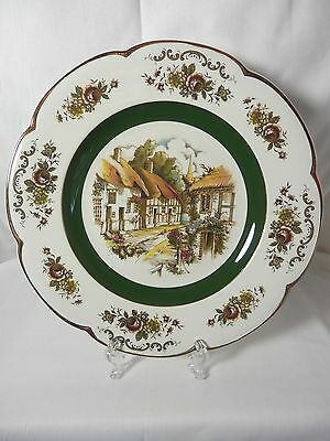 Beautiful Enoch Woods & Sons, Service Decorative Wall Plate, Ascot Village