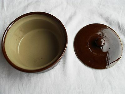 Pearsons Brown Cooking Pot with Lid