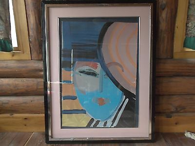 """Peter Max--""""DECO LADY"""""""