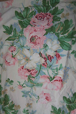 "Huge English Country House Shabby Chic Curtains 90""L x 62""W Ea/2 pairs available"