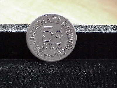 Cumberland, MD Cumberland Brewing Co, Maryland beer brewery merchant trade token