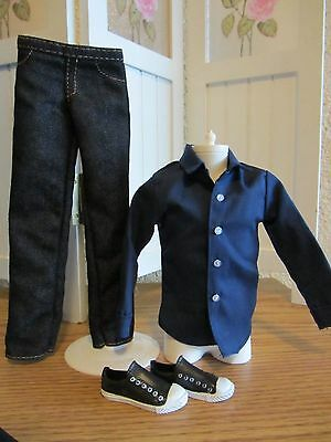 DEBOXED TWILIGHT JASPER OUTFIT FOR A KEN DOLL
