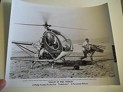 Vintage 1964 CRACK IN THE WORLD Sci Fi Movie Press Photograph #58