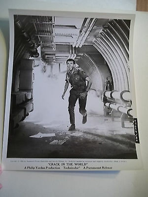 Vintage 1964 CRACK IN THE WORLD Sci Fi Movie Press Photograph #84