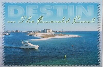 "*Postcard-""Destin"" ...The Emerald Coast-  Florida"