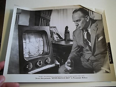 Vintage 1963 SEVEN DAYS IN MAY  Movie Press Photo #98