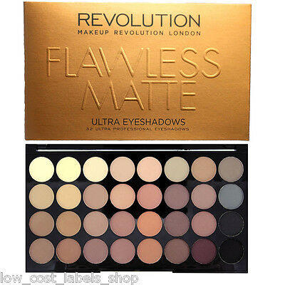 Makeup Revolution Palette Naked Dupe 32 Shade Eye shadow Flawless Matte