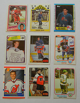 1960s 1970s 1990s LOT OF 1100 VARIOUS HOCKEY CARDS (LOT #8) STARS ROOKIES $$ LOT