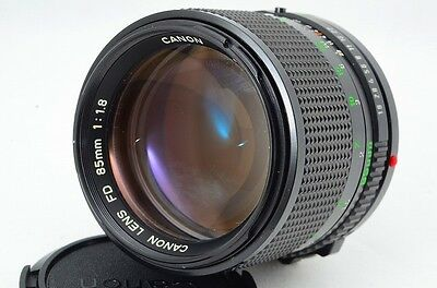 CANON FD 85mm F/1.8 SLR from Japan 0804-10569