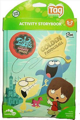 Tag Activity Book Foster's Home for Imaginary Friends LeapFrog Learning Path