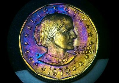 Toned (AT) 1979 S Susan B. Anthony Dollar ¤ Circulated Business Strike ¤ S6665