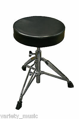DXP - Super Heavy duty drum throne stool. Wide angle, double braced legs.