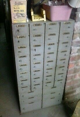 Mosler safe 38 sections