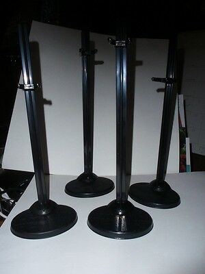 Monster High accessories four black doll stands for girls New