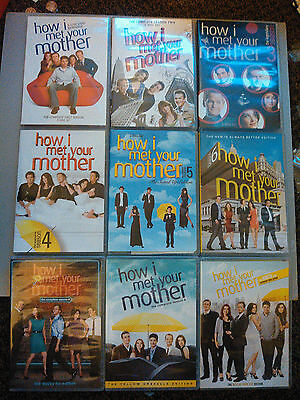 How I met Your Mother Complete Series DVD Used Seasons 1-9 1,2,3,4,5,6,7,8,9