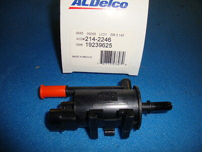 Vapor Canister Purge Solenoid ACDELCO PRO 214-2246