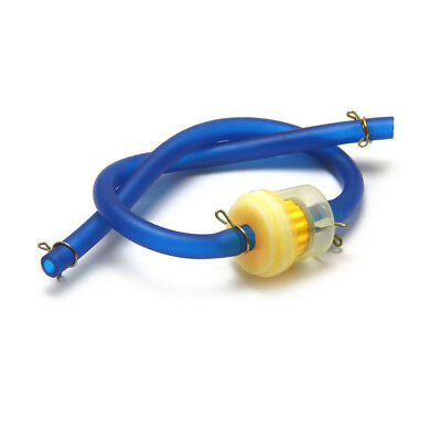Blue Silicone Fuel Line 4 mm Petrol Hose 4 Pit Trail Dirt Quad Bike Motorcycle