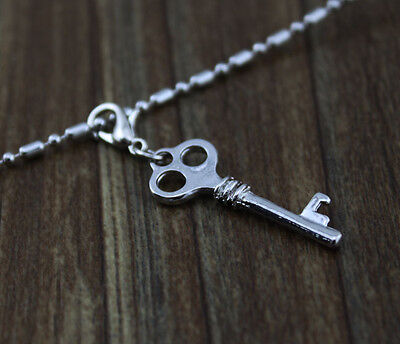 6pcs hot sell key dangle Floating Charm for Glass Memory Locket necklace e325