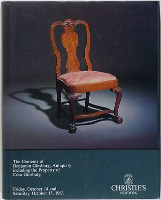 BENJAMIN GINSBURG COLLECTION -ANTIQUE AMERICAN FURNITURE and AMERICANA ANTIQUES