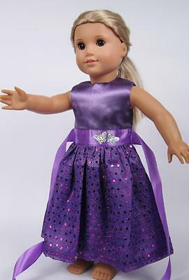"""Hot Doll Clothes for 18"""" American Girl Handmade Hot Summer Dress gown dolls b7"""