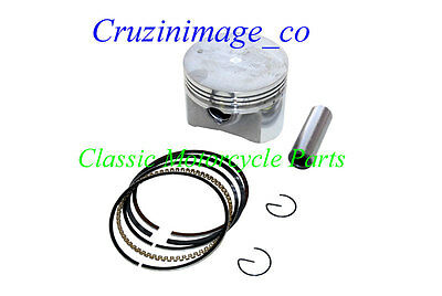 79-82 Honda XR500 90mm PISTON 1.0mm Oversize Rings Pin Clips  include XL500-2