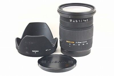#26544 SIGMA AF 17-70mm F2.8-4.5 DC MACRO for Canon Excellent From Japan