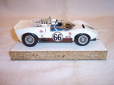 Cox  Chaparral  2C  Vintage slot car  Restored  VERY NICE  Not K&B  MPC  AMT