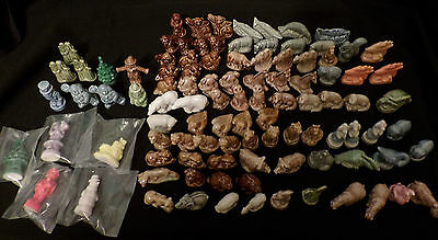 Wade Whimsies Red Rose Tea Figurines, animals, holidays, 100 Huge Lot !