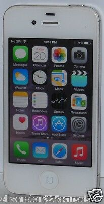 Apple iPhone 4S (A1387) 16GB White Bell Virgin 3G GSM Smartphone MD237LL/A 17
