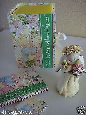 "GNOMY'S DIARIES The Angels of Love by ANNEKABOUKE ""Get Well Soon"" Figurine"