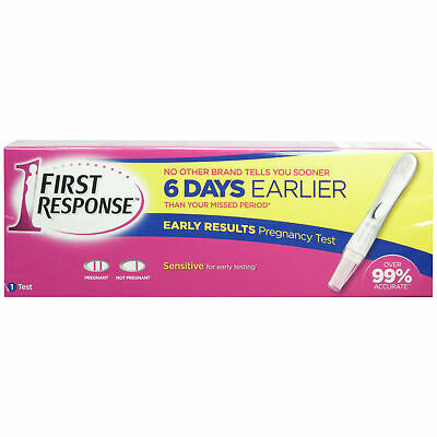 First Response Pregnancy Test