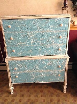 Antique Hand Painted Wooden chest (Circa 1920's)