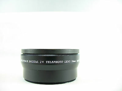 58mm digital 2X Telephoto Auxiliary Conversion Lens