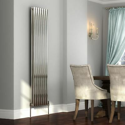 Sidato Lusso Stainless Steel Designer Radiator | Vertical Tall Column Radiators